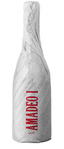 Diseño de packaging de vino en Murcia para vino Amadeo I
